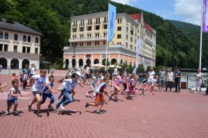 бег олимпийский