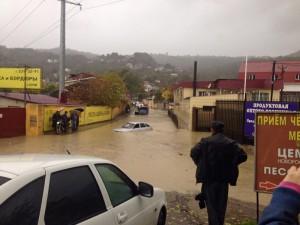 потоп машин