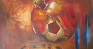 Комитет ФИФА снял четрехминутный фильм о сочинских художниках Кириленко, создавших экспозицию о футболе