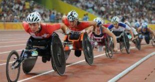 Гонки на спортивных колясках проходят в Сочи
