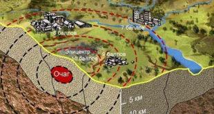 Сейсмологи советую определять пути безопасности до землетрясения