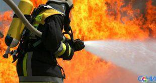Спасатели и пожарные ликвидировали природный пожар в районе селе Раздольное