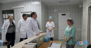 Мэр Сочи проинспектировал горбольницу №3, которую возглавил Сосо Мебония