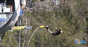 Мировой рекорд по количеству непрерывных прыжков на банджи установлен в Скайпарке Сочи (видео)