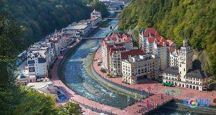 Парк водопадов откроют на курорте «Роза Хутор»