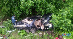Водитель БМВ погиб в ДТП в Адлере