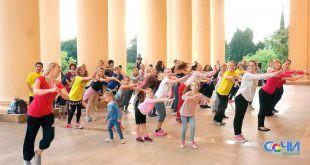 Для развития социальной активности в Сочи бесплатно учат танцевать