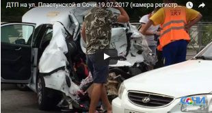Большегрузы провоцируют ДТП на дорогах Сочи