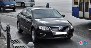 В Сочи задержан автомобиль незаконно использующий спецсигналы