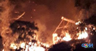 Швейная мастерская и жилой дом сгорели в Сочи