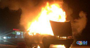 Два человека погибли ночью в пожаре в Сочи