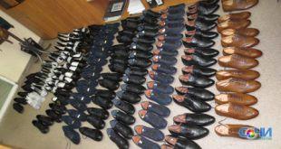 Партию незадекларированной обуви выявили на Сочинской таможне