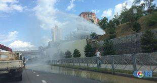 Жители Сочи вновь остаются без воды из-за аварии на водоводах города-курорта