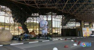 Олимпийские символы навсегда переехали в аэропорт Сочи