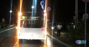 Автобус сбил женщину в Адлере