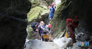 Спелеодайверы подняли из Воронцовских пещер тело погибшего  дайвера