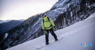 Новые горнолыжные трассы откроет курорт»Роза Хутор» в предстоящем зимнем сезоне