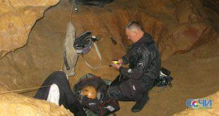 Спелеодайверы нашли телопогибшего в сочинской пещере председателя союза дайверов Удмуртии Владимира Федорова