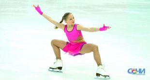В Сочи прошли открытые краевые соревнования по фигурному катанию.