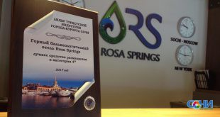 Лучшей гостиницей Сочи признан бальнеологический отель Rosa Springs