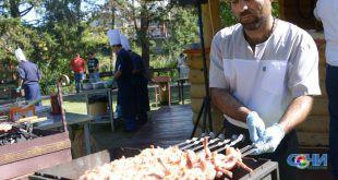 Фестиваль кавказских блюд прошел в Сочи