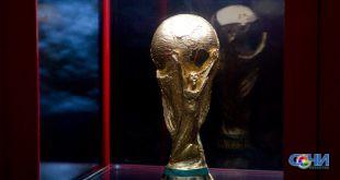 Кубок Чемпионата мира по футболу FIFA доставят в скайпарк Сочи 21 ноября, где вход будет бесплатным