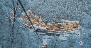Метель и снегопады стали причиной закрытия нескольких горнолыжных трасс в Сочи