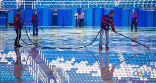 День ледовара отмечает олимпийский дворец спорта «Айсберг»