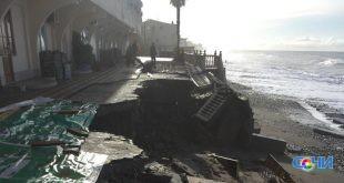 Шторм разрушил эллинги в Лоо и набережную Олимпийского парка