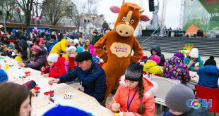 Рекорд России самого массового народного творчества установлен на масленице