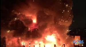 В Сочи на пожаре склада скутеров погиб один человек
