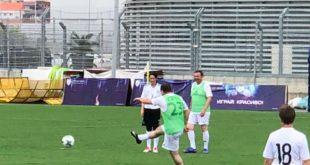 Мэр Сочи сыграл в футбол