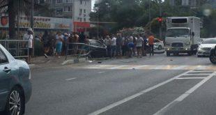 Один человек погиб и пятеро пострадали в ДТП в Дагомысе