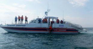 Учения в море провели спасатели Сочи