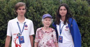 Сочинская 78-летняя футбольная болельщица посетила матч финала ЧМ-2018 в Санкт-Петербурге