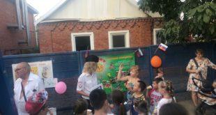 Госавтоинспекторы проводят занятия с детьми