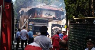 В Сочи сгорело кафе «Рио»