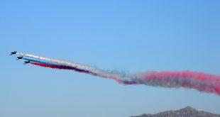 Авиационная группа высшего пилотажа «Стрижи» выступит на Формуле 1