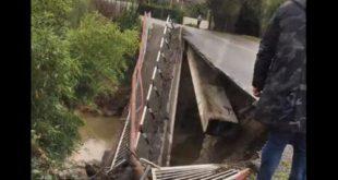 Мост обрушился в Нижней Шиловке