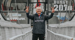 Сочинский пенсионер установил рекорд по банджи-прыжкам