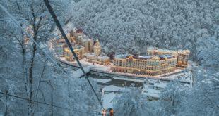 Горные комплексы Сочи стали лучшим зимним курортом страны