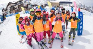Школа горных лыжах открыта на курорте «Роза Хутор»