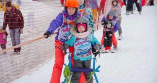 Программу терапевтического спорта «Лыжи мечты» реализуют на курорте «Роза Хутор»
