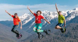 Курорт «Роза Хутор» предлагает горы спорта