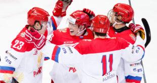 Хоккейные матчи Еврочеленджа в Сочи принесли сборной России две победы