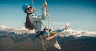 Необычный аттракцион для любителей захватывающих ощущений открылся в горах Сочи