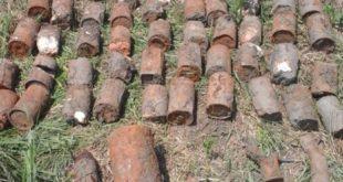 Боеприпасы времен Великой Отечественной войны обнаружили пограничники