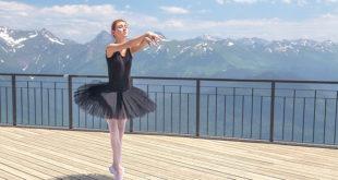 Бесплатный мастер-класс балета пройдет на курорте «Роза Хутор»