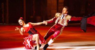 Мюзикл на льду «Кармен» стал самым популярным в Сочи