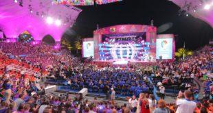 В Сочи стартовал международный конкурс молодых исполнителей популярной музыки «Новая волна»